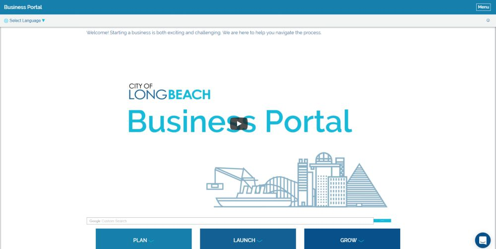 City of Long Beach's Bizport