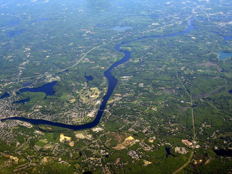 Merrimack River: Home to Haverhill and Concord's business attraction sites