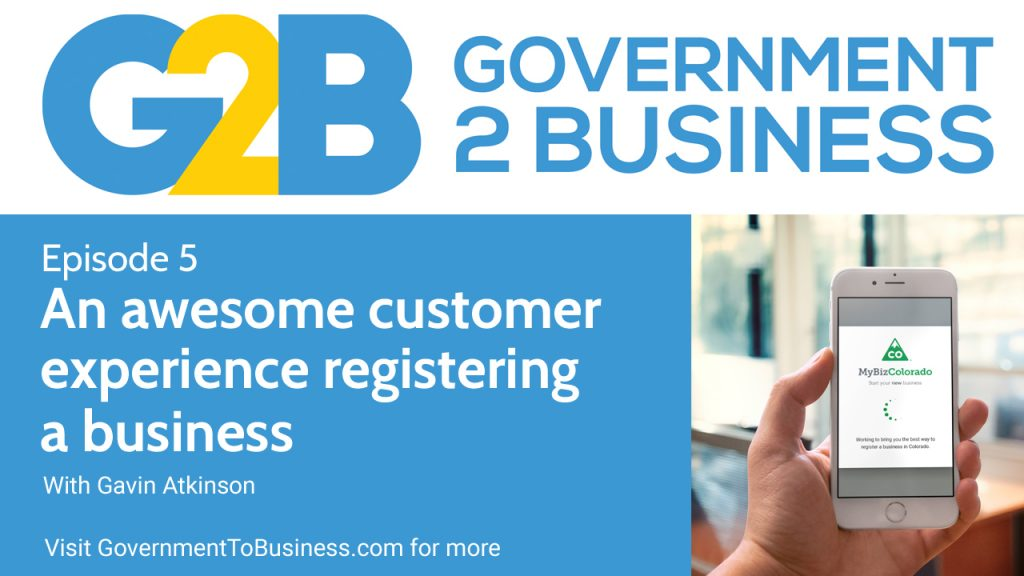 Government to Business podcast episode 5 - MyBiz Colorado