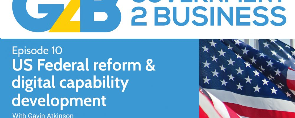 US Federal reform and digital capability development