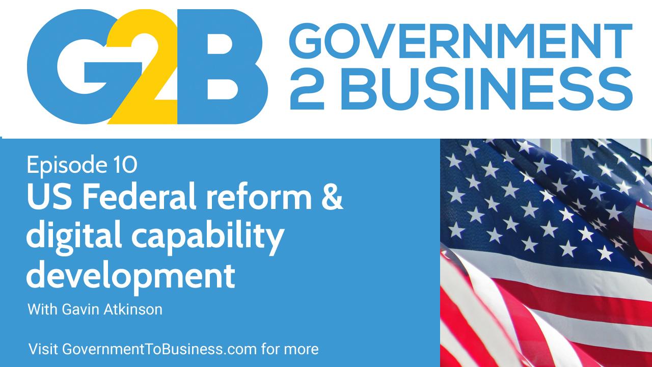 US Federal reform and digital capability development