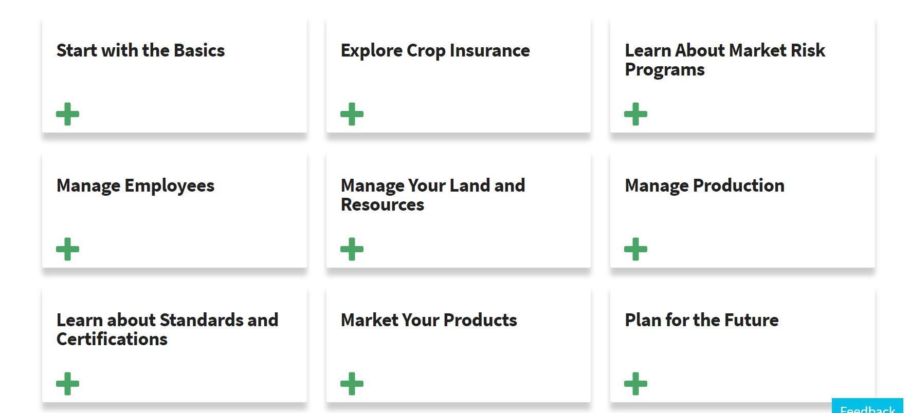 Manage IA Farmers.gov cards