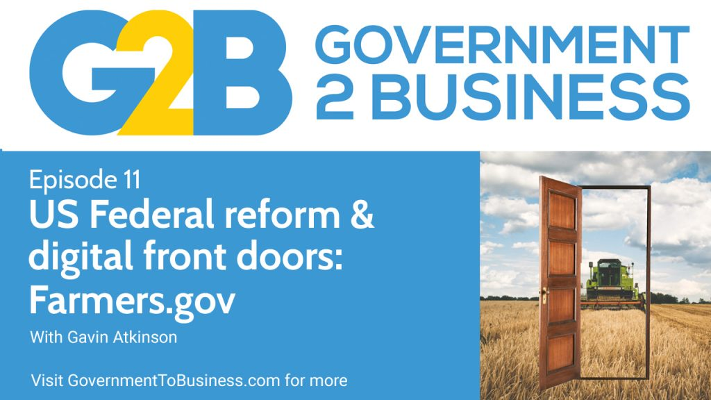 Podcast episode 11: US Federal reform & digital front doors - Farmers.gov